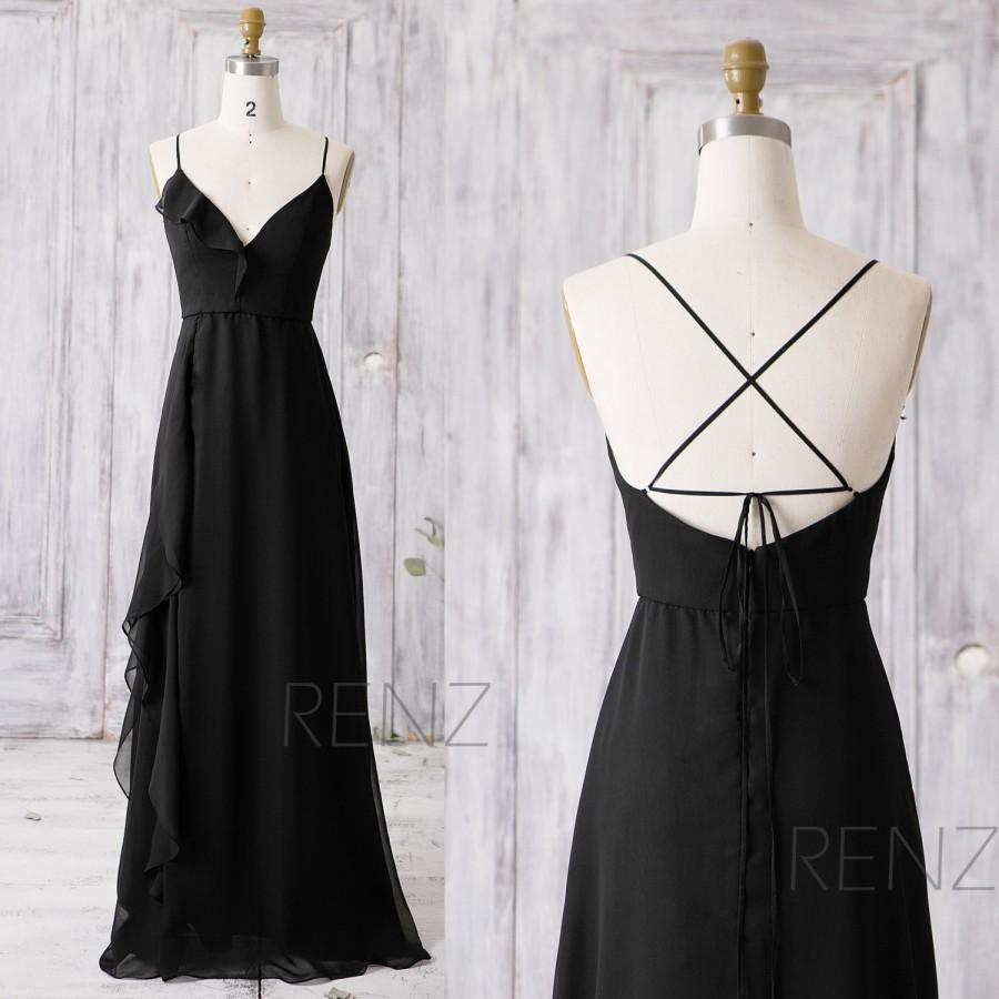 a83a969ae7 Black Prom Dress