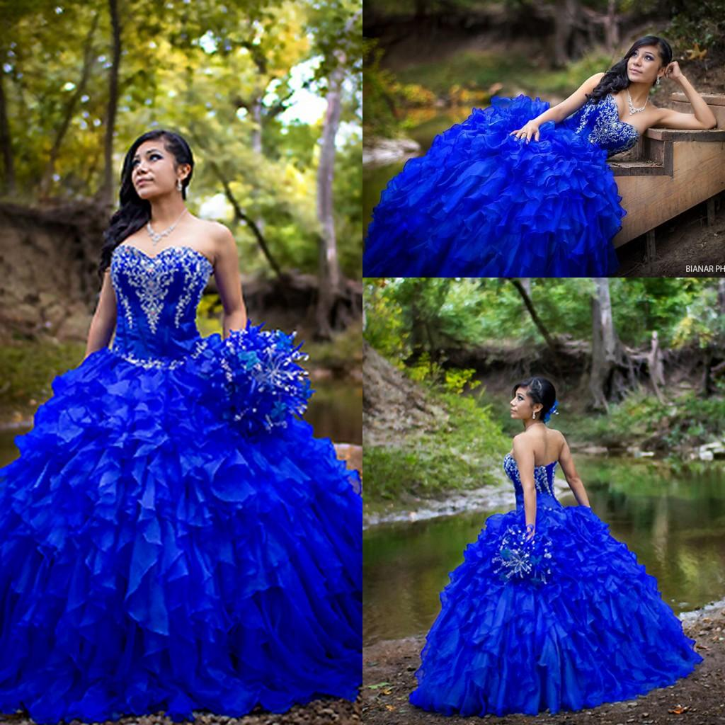 Dresses Quinceanera royal blue recommend to wear in winter in 2019